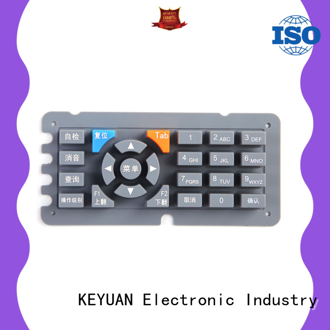 Keyuan elegant silicone rubber products manufacturer personalized for remote control