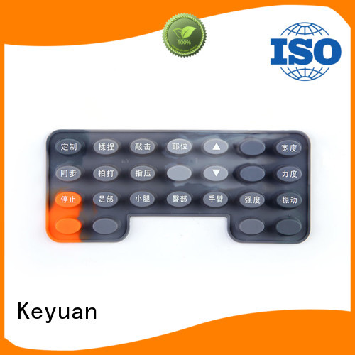 Keyuan Conductive silicone rubber products For Air Conditioner Remote Control
