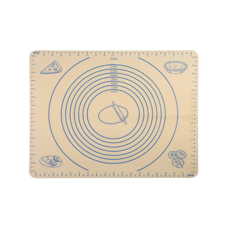 Food Grade Thick Non-slip Silicone Pastry Mat