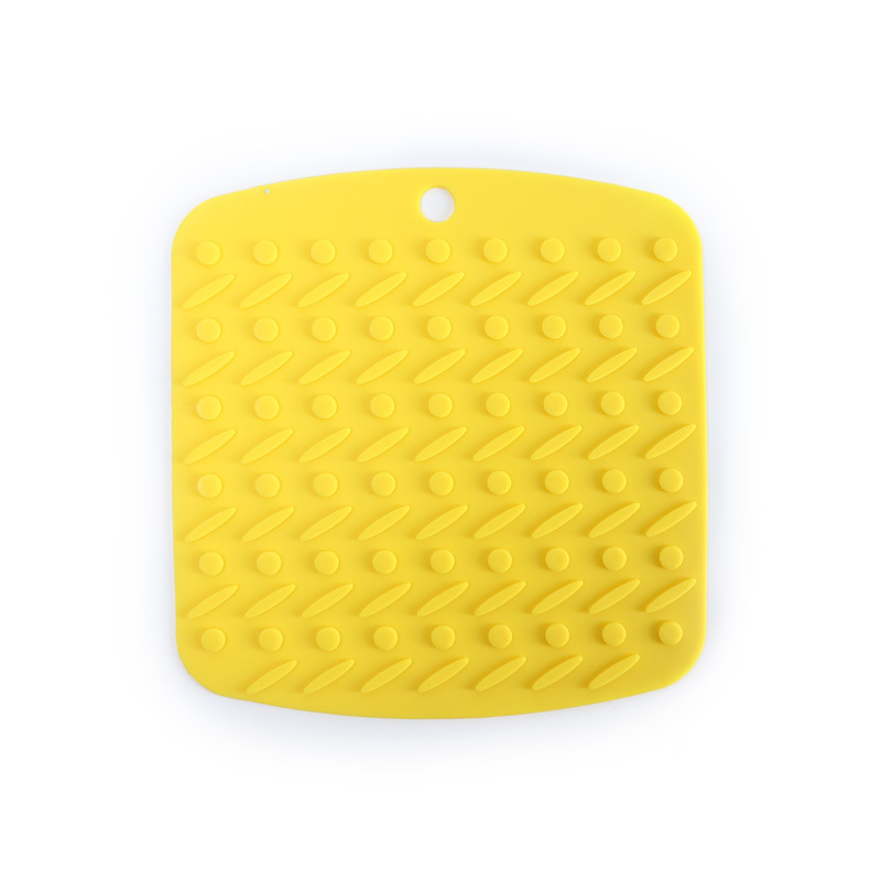 Square Food Grade Silicone Placemat Insulation Pad