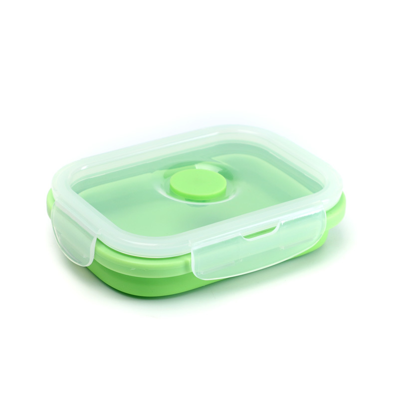 Food Grade Silicone Folding Lunch Box