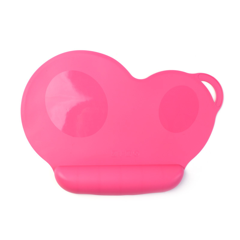 Infant Food Grade Silicone Placemat Plate Portable Waterproof