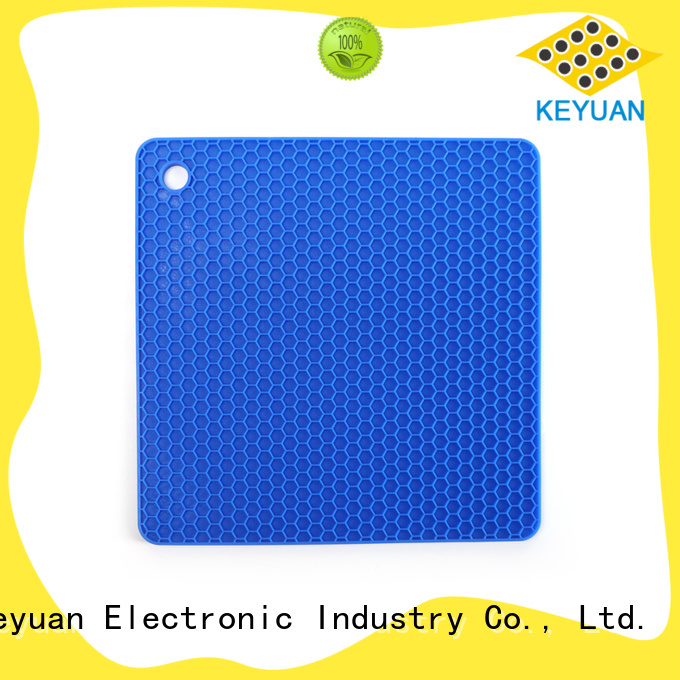 Keyuan 180*12*2 mm or 190*12*2 mm silicone household items Customized Embossed For meal