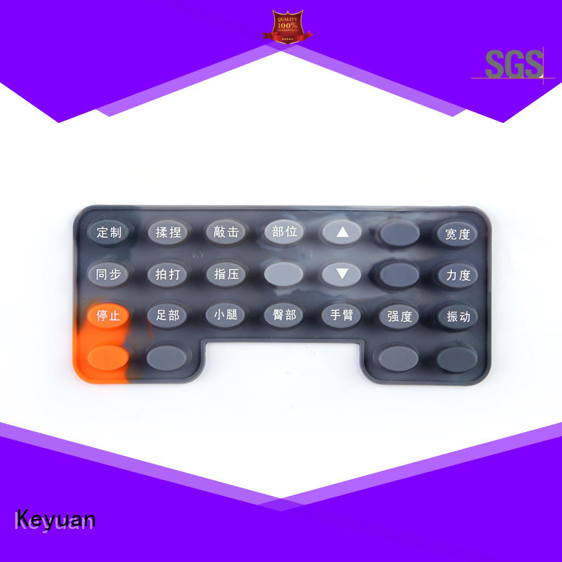 Keyuan Purity: 75 silicone rubber products manufacturer Panel For electronic