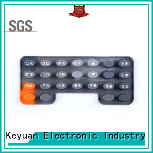 Keyuan 0.3-0.9mm silicone rubber products combo For Rubber Product
