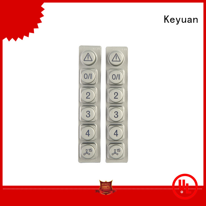 Silicone Light Transmission Rubber Button Keypads
