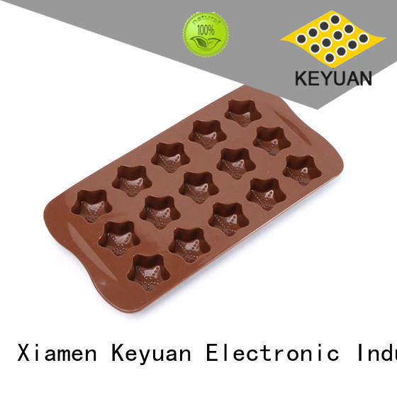 Food Grade Silicone Ice Cube Mould 15 Square For cake making Keyuan
