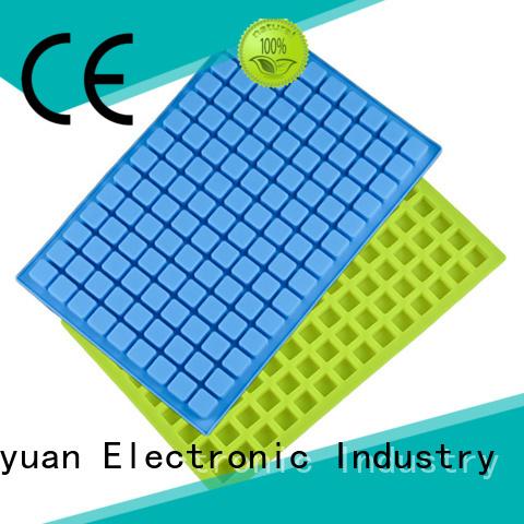 Keyuan 15 Square silicone kitchen products Dishwasher safe