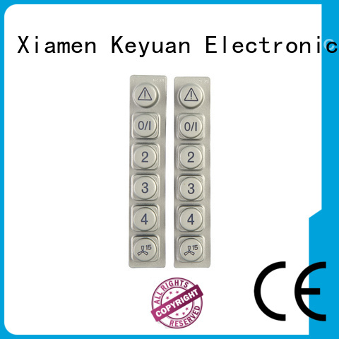 Keyuan Conductive silicone rubber products customized For Home Remote Control