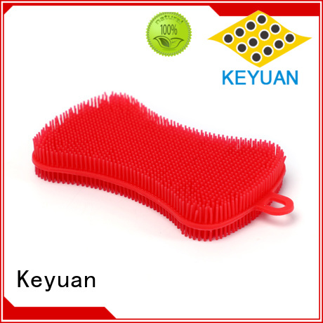 Keyuan Chocolate Biscuit Cake Food Grade Thick Non-slip Silicone Pastry Mat Flexible and durable For Microwave