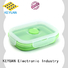 Keyuan 18*18*0.8cm household silicone items Customized Embossed For Beauty