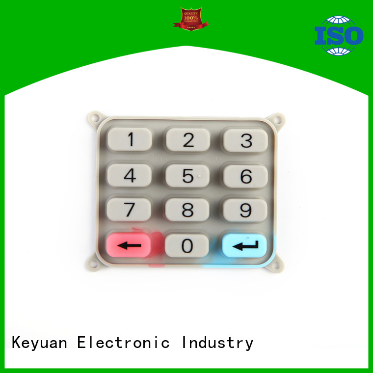 Keyuan High Quality silicone rubber products manufacturer customized For electronic