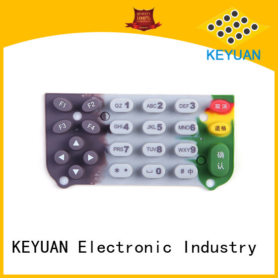 Silicone Rubber Button Keypad For Massage Chair Diameter: 1-9mm For Keypad Keyuan
