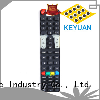 Keyuan Diameter: 1-9mm silicone rubber products manufacturer For Home Remote Control