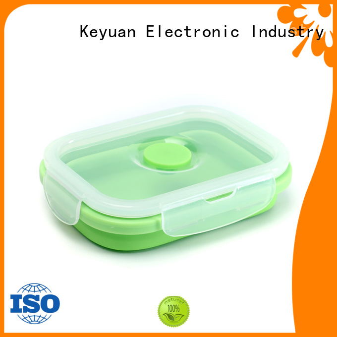 Keyuan Folding silicone household products Waterproof For food carrying