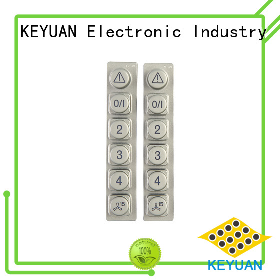 Keyuan conductive silicone rubber products manufacturer factory price for Keypad