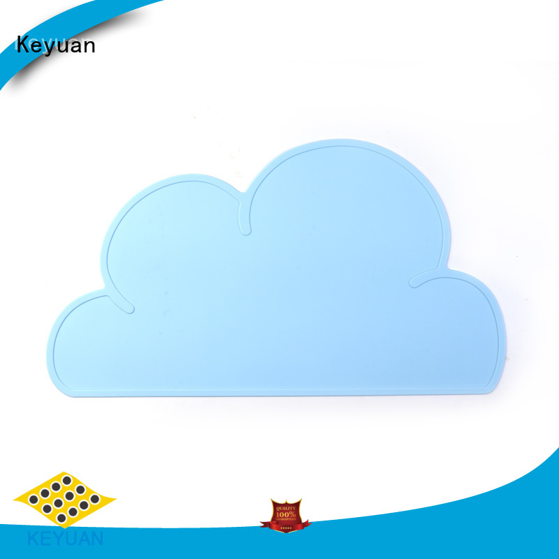 Keyuan 202*12*2 mm silicone household products Debossed Color For Household