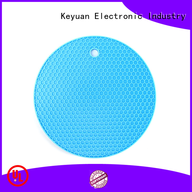 Keyuan 160*12*2 mm silicone household products Debossed Color For food carrying