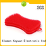 Keyuan 15 Hole silicone kitchenware products Oven safe For chocolate cake making