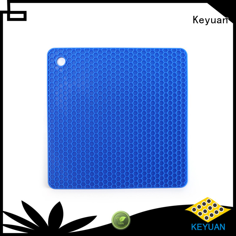 Keyuan Children's grid Infant Silicone Placemat 160*12*2 mm