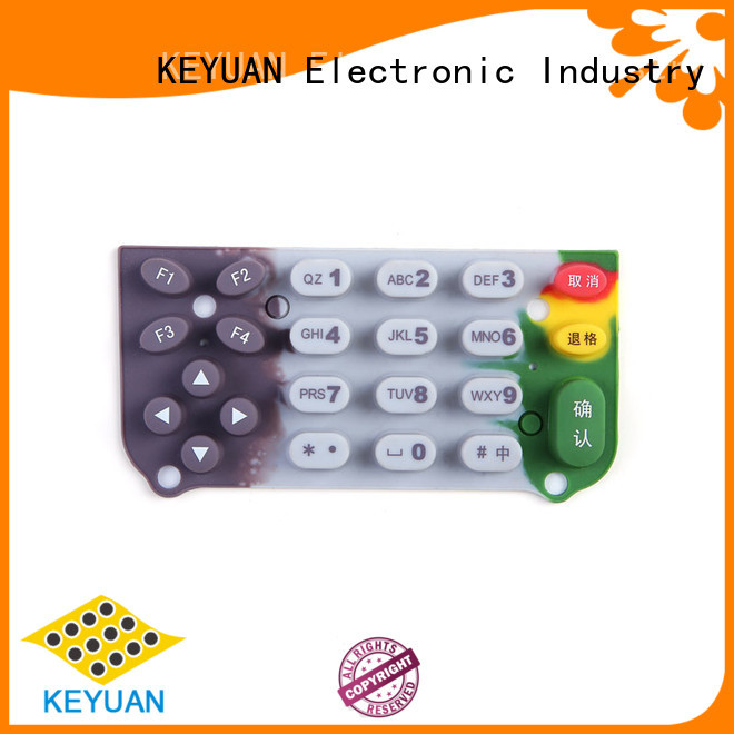 High Quality silicone rubber products Purity: 75 company For Keypad