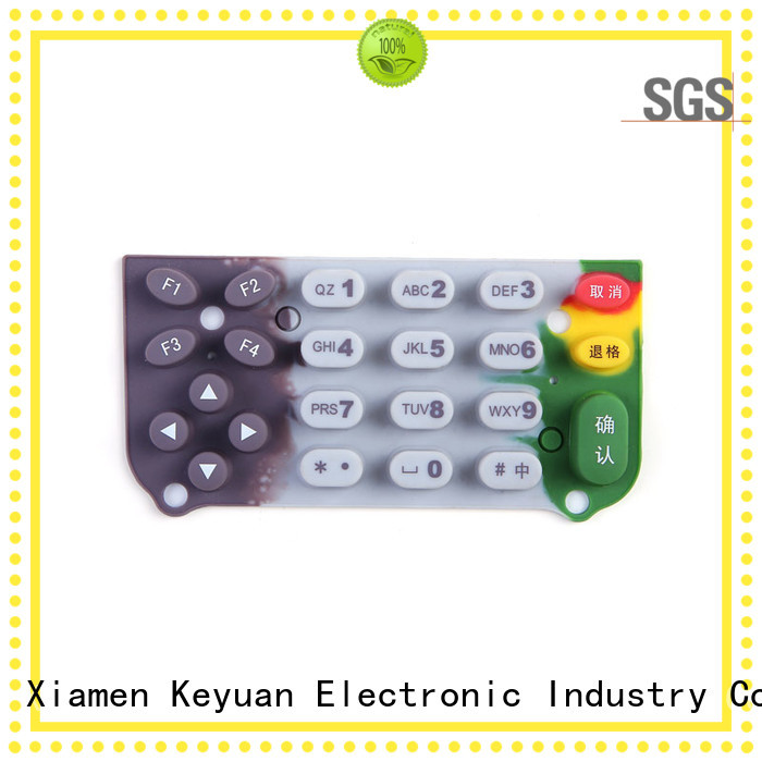 elegant silicone rubber products manufacturer wholesale for Keypad
