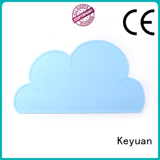 Keyuan 202*12*2 mm silicone household items Debossed Color For Men