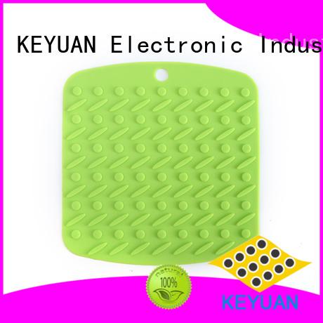 Keyuan Child silicone bib 18*18*0.8cm For Men