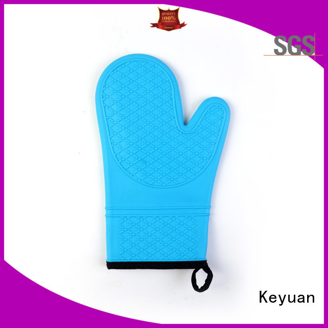 Keyuan 15 Square silicone kitchen products Heat Resistant For oven