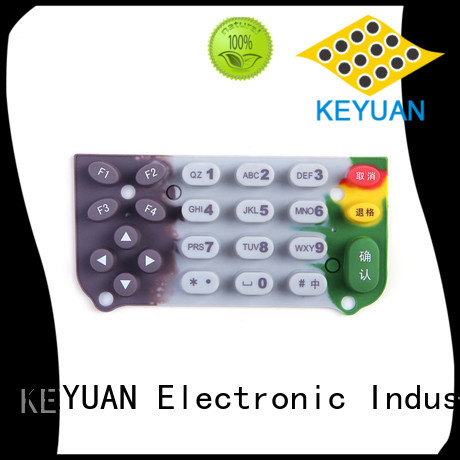 Keyuan -30—200℃ silicone rubber products manufacturer For Home Remote Control