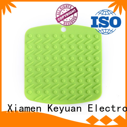 Keyuan 180*12*2 mm or 190*12*2 mm silicone household items Debossed Color For Beauty