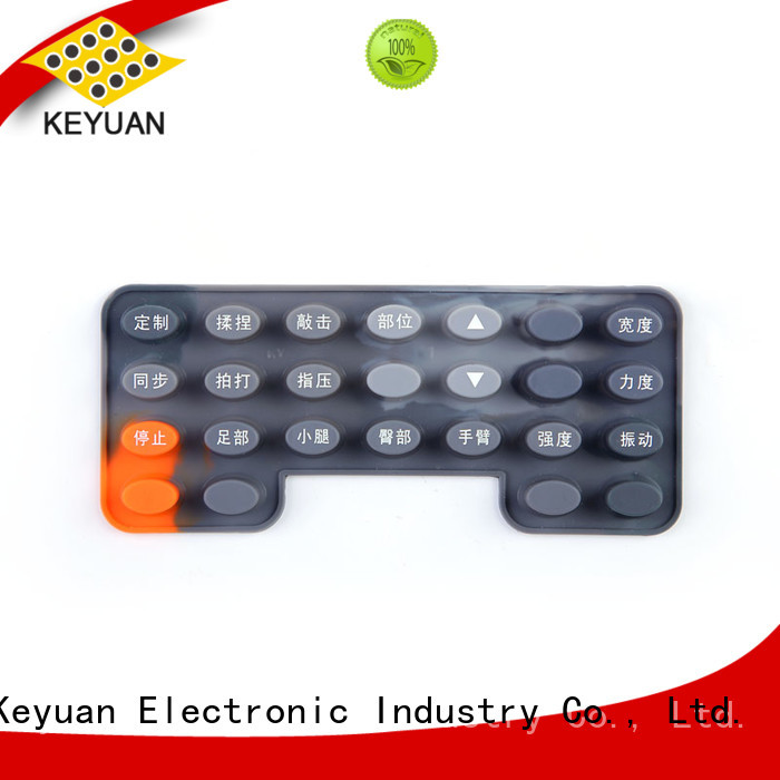 Top Conductive silicone for Massage belt custom For Massage Chair Keyuan