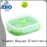 2019 silicone household products 18*18*0.8cm Debossed Color For food delivering