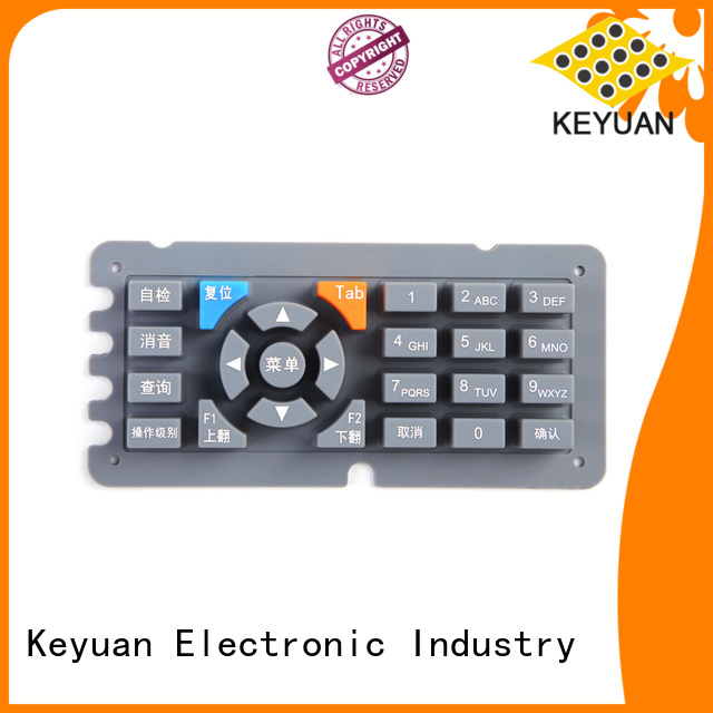 Conductive Rubber Keypad For Printer