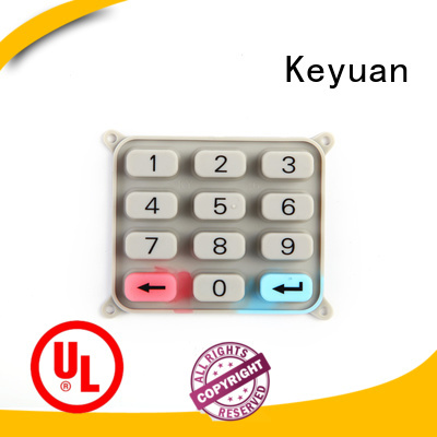 Keyuan quality silicone rubber products for electronic