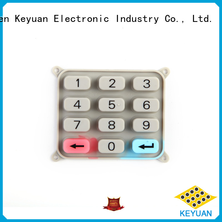 Top Silicone Carbon Pill Keypad OEM/DEM For massage
