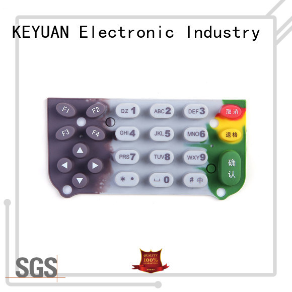 Keyuan Diameter: 1-9mm silicone rubber products customized For Rubber Product