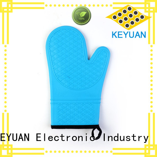 Keyuan 15 Square silicone kitchen products Freezer safe For Microwave