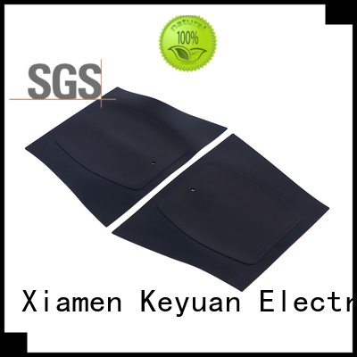 Keyuan below 100Ω silicone rubber products manufacturer OEM/DEM For Keypad