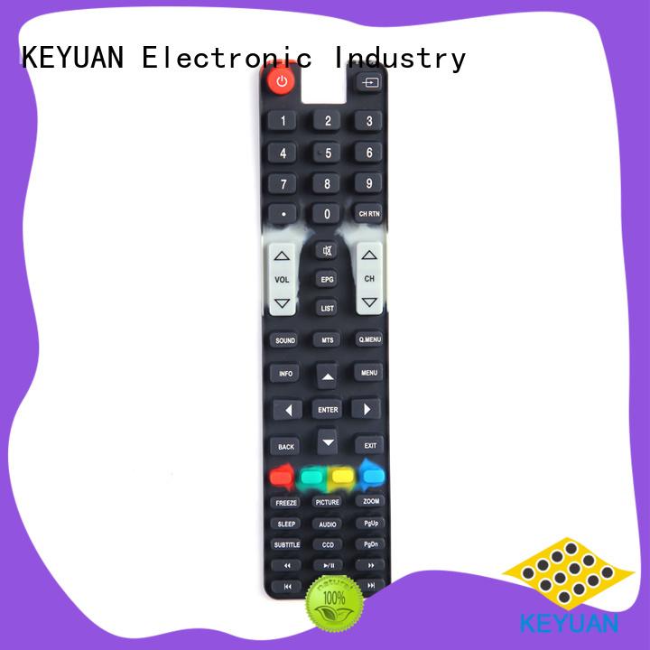 Silicone Pos Machine Keypad below 100Ω For massage Keyuan