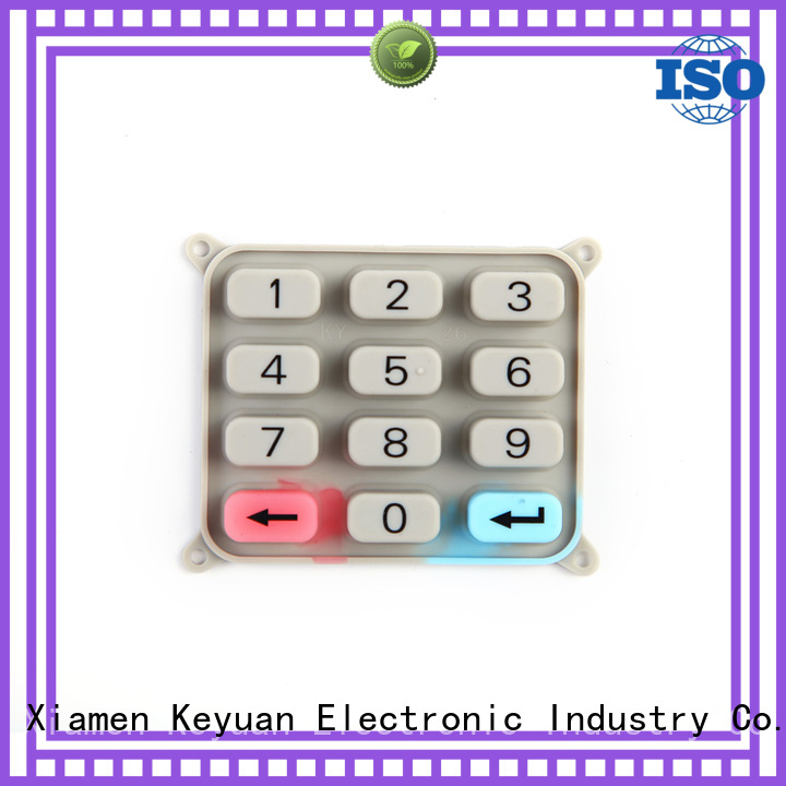Keyuan Top silicone rubber products manufacturer combo For electronic