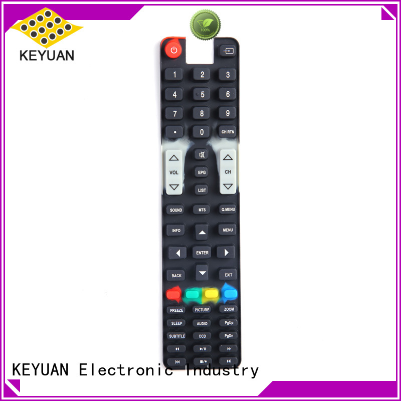 Silicone Rubber Button Keypads For Home Remote Control