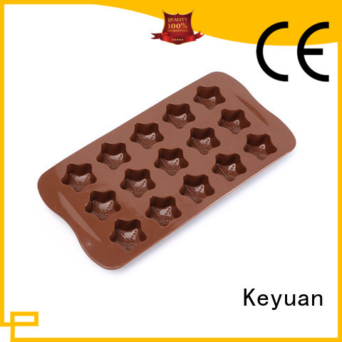 Keyuan 15 Hole silicone kitchen items Cake Maker For oven
