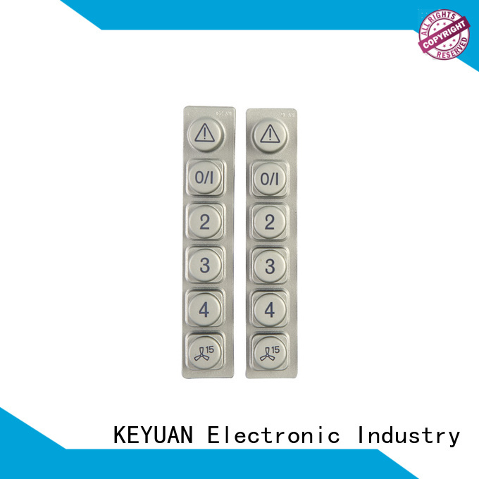 Keyuan silicone rubber products factory price for remote control