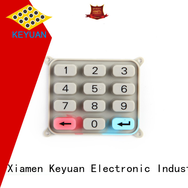 Keyuan Conductive silicone rubber products OEM/DEM For Rubber Product