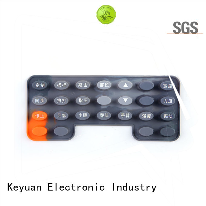 Keyuan conductive silicone rubber products manufacturer for commercial