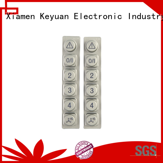 Keyuan Conductive silicone rubber products manufacturer Panel For Air Conditioner Remote Control
