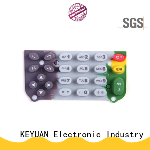 Keyuan Top silicone rubber products Panel For electronic