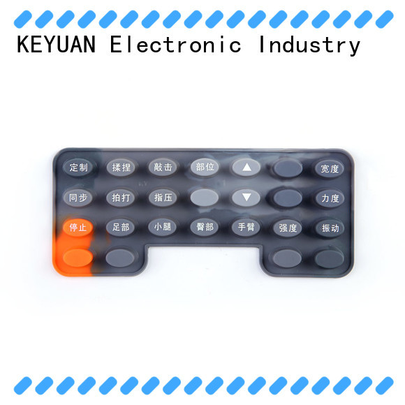 Keyuan quality silicone rubber products manufacturer wholesale for electronic