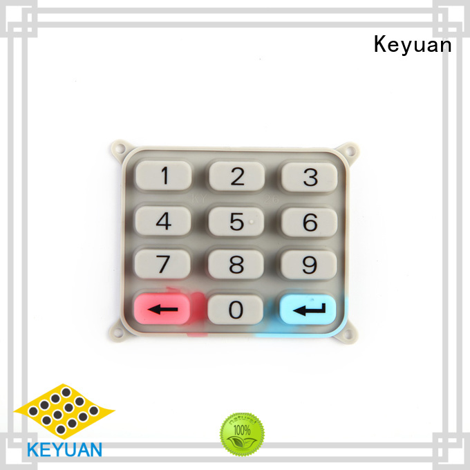 Keyuan Cheap silicone rubber products manufacturer Dustproof For Rubber Product